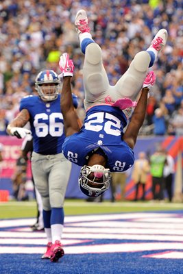 David Wilson New York Giants Touchdown v Eagles 2013