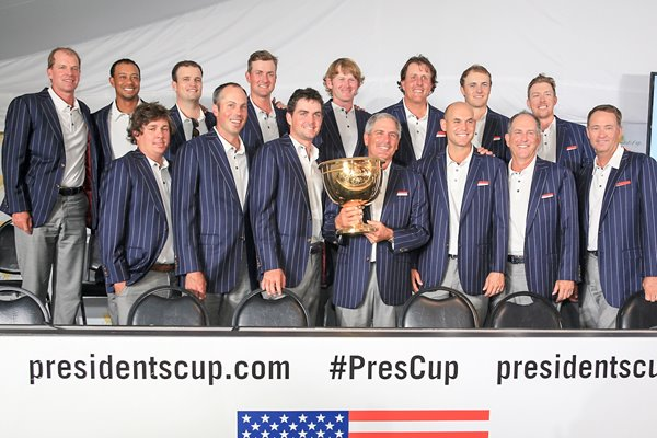 USA Presidents Cup Winners 2013