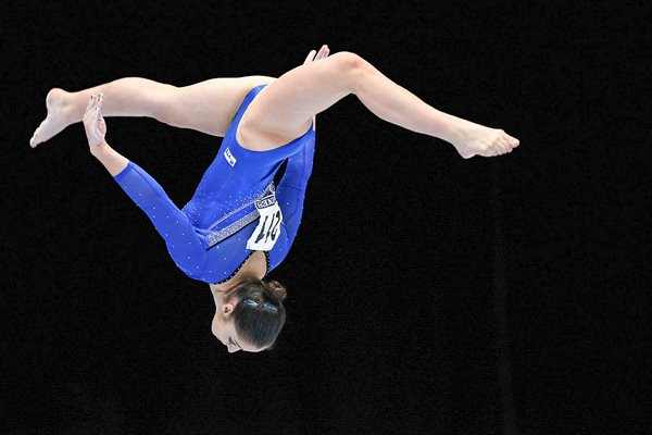 Aliya Mustafina Russia Beam Gold World Gymnastics 2013