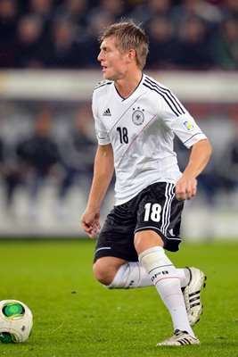 Toni Kroos Germany v Republic of Ireland Cologne 2013