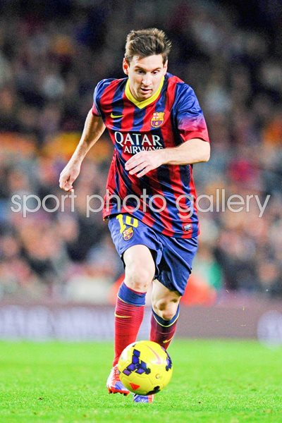 Lionel Messi of Barcelona - La Liga