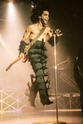 Prince performing in Minneapolis 1990