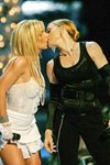 Britney & Madonna Kiss Mounts