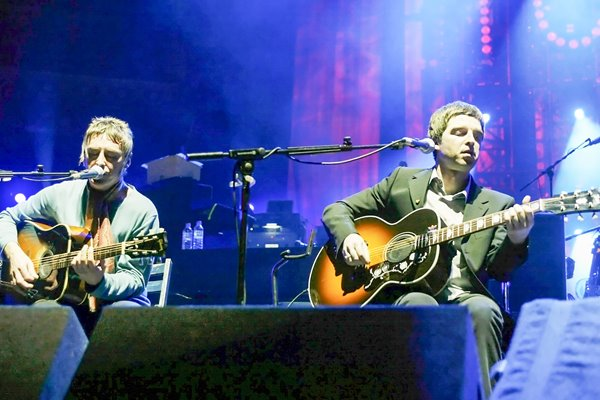 Noel Gallagher and Paul Weller