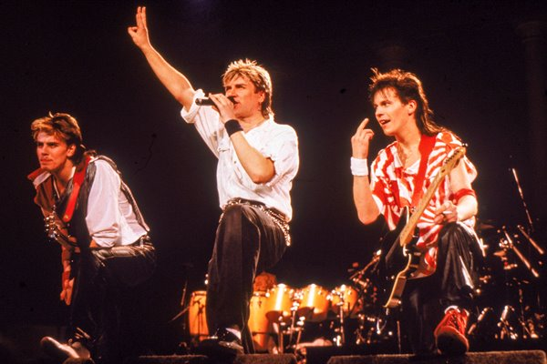 Duran Duran Performing On Stage 1984