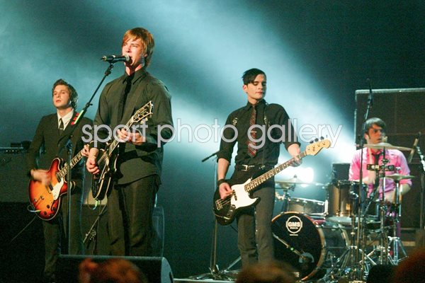 Interpol onstage