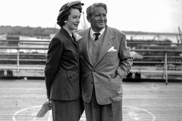 Spencer Tracy and Deborah Kerr 1948