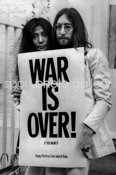 John & Yoko - War Is Over