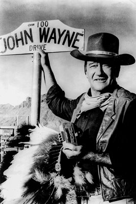 John Wayne's Sign