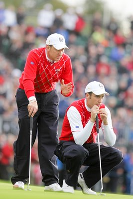 Poulter & Fisher line up in Fourballs - Day 1