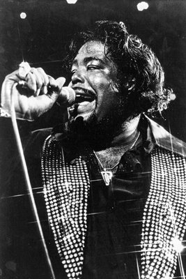 Barry White performing