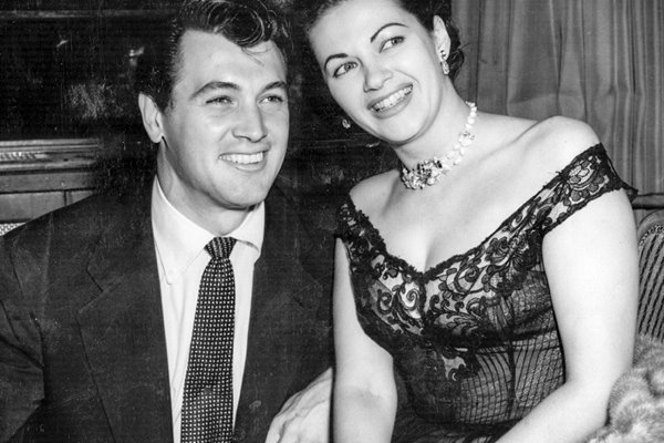 Rock Hudson and Yvonne De Carlo 1958
