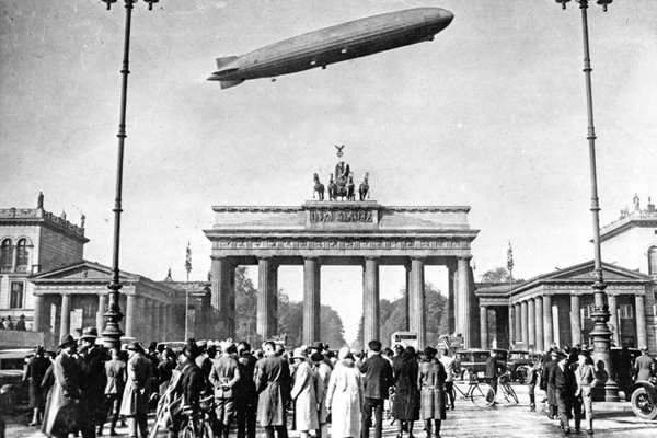 Zeppelin Over Berlin