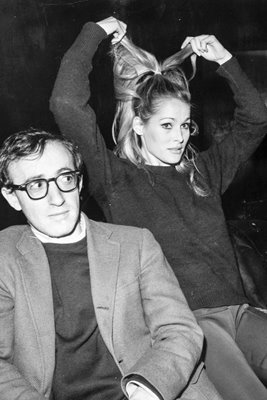 Woody Allen and Ursula Andress 1966