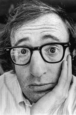 Woody Allen Portrait 1971