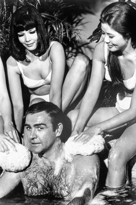 "Sean Connery as James Bond ""You Only Live Twice"""
