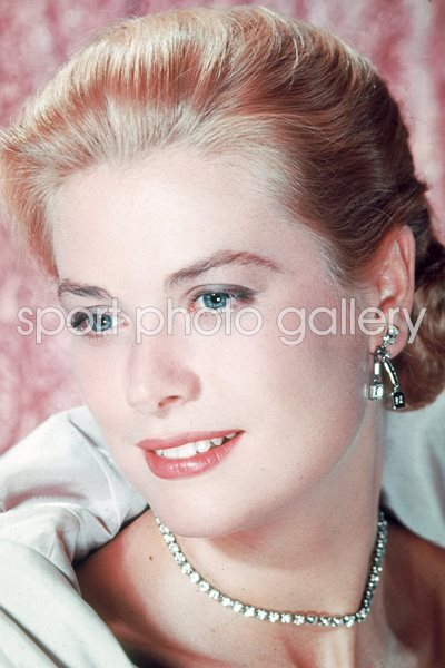Princess Grace classic colour portrait