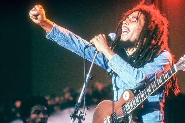 Bob Marley performs in Sweden