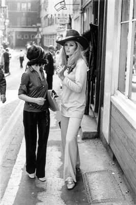 Ursula Andress in London 1969