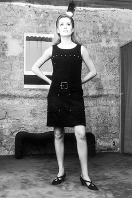 Catherine Deneuve Little Black Number