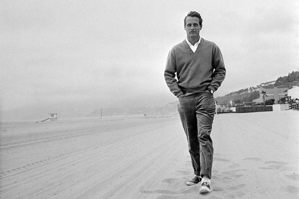 Newman On The Beach 1958