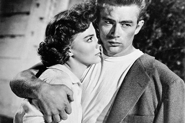James Dean & Natalie Wood In 'Rebel Without A Cause'