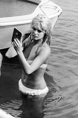 Brigitte Bardot In Lake Leman 1961
