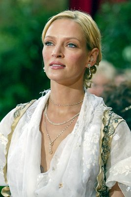 Uma Thurman arrives at 76th Academy Awards