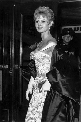 Brigitte Bardot In London 1956