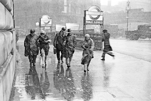 Winter in London 1933