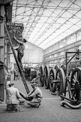 LMS Works in Crewe 1933