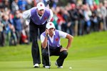 Furyk and Fowler line up in Foursomes  Prints