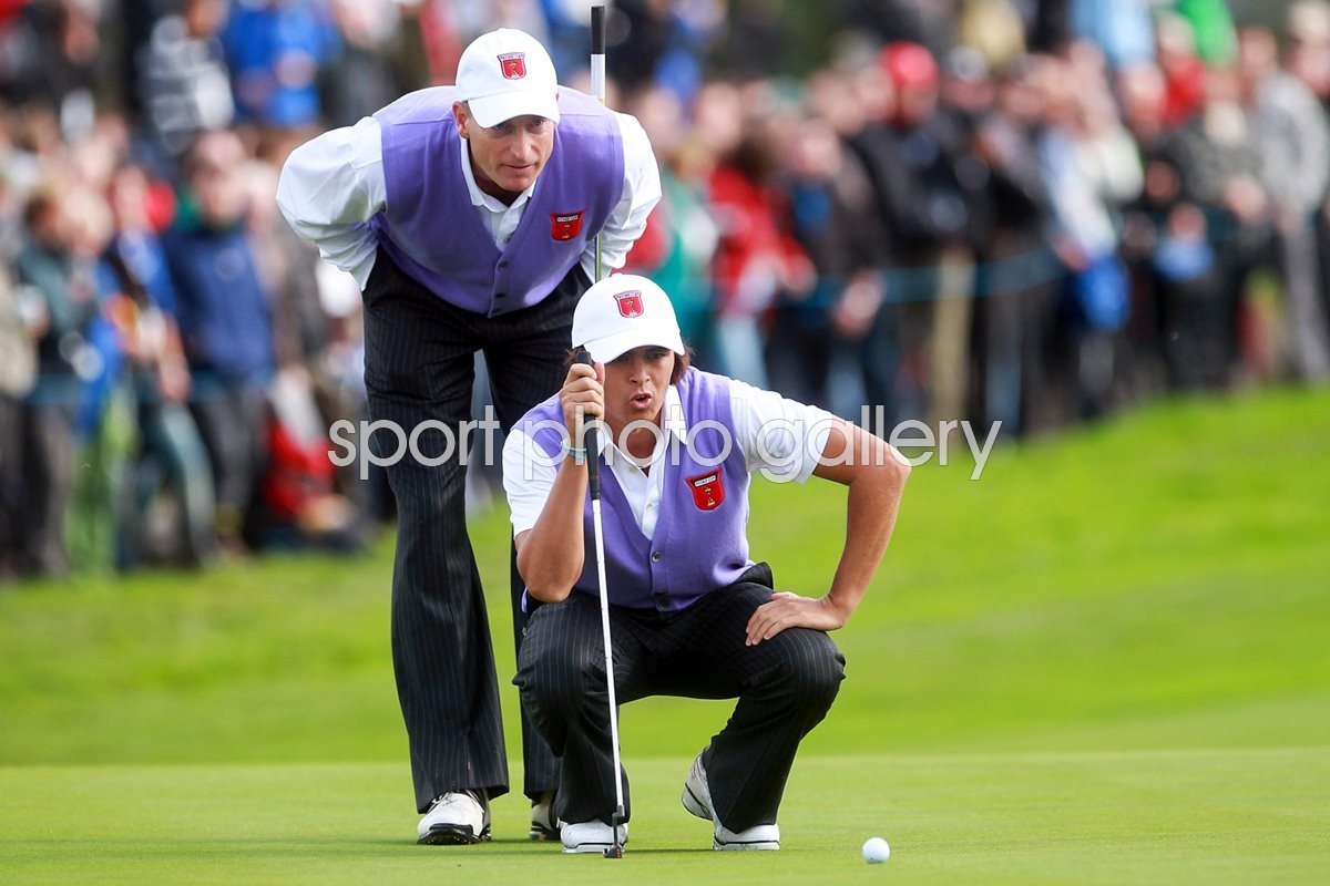 Furyk and Fowler line up in Foursomes