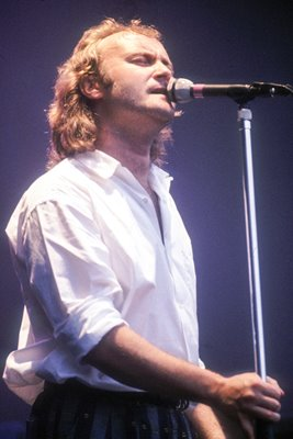 Phil Collins of Genesis in concert