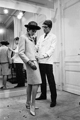 Yves Saint-Laurent 1965