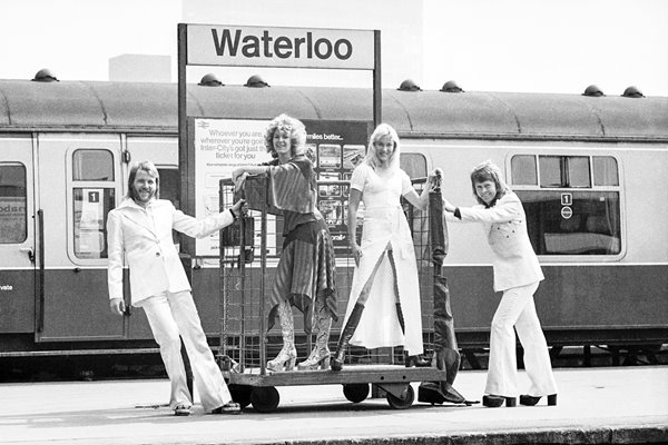 Abba at Waterloo 1974