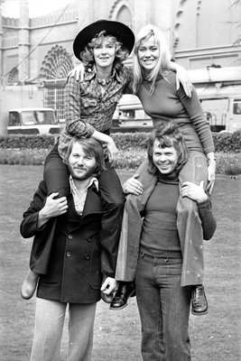 Abba In Brighton 1974