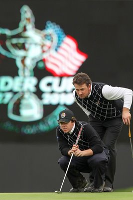 Rory and GMac line up for Europe - 2010 Ryder Cup