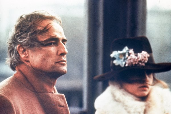 "Brando and Schneider in ""Last Tango in Paris"""
