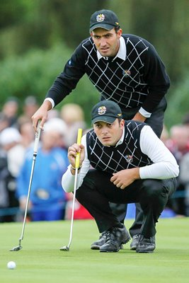 The Molinari Brothers line up for Europe