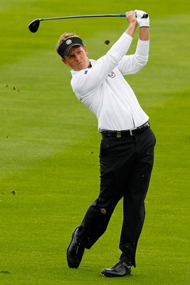 Luke Donald 2010 Ryder Cup Action