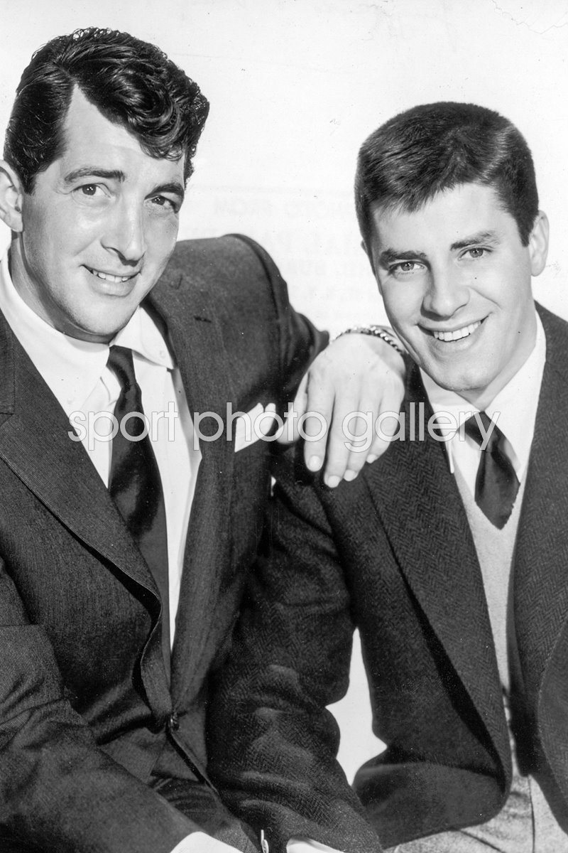 Dean & Jerry portrait 1955