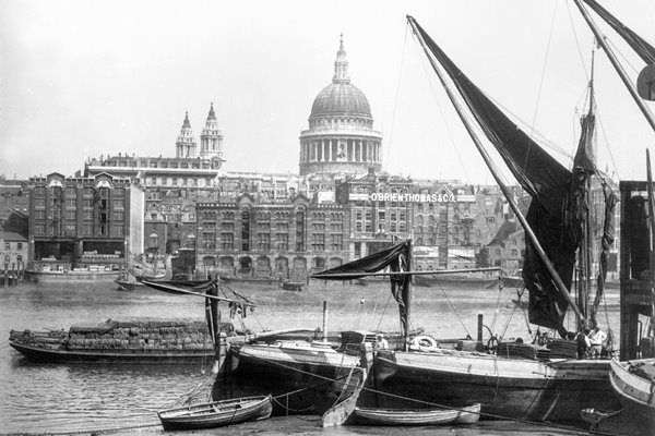 Southwark View in 1900s