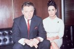 Burton And Taylor 1965 Canvas