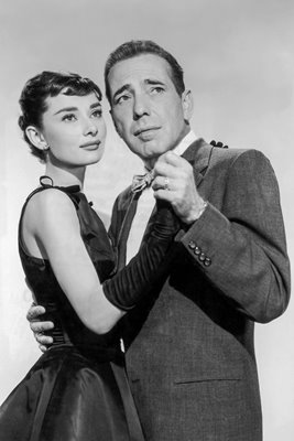 Bogart and Hepburn in Sabrina