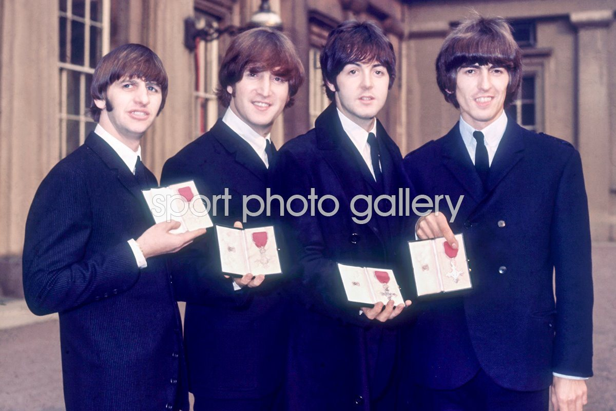The Beatles MBE