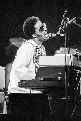 Stevie Wonder In London 1974