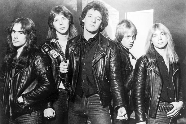 Iron Maiden portrait 1981