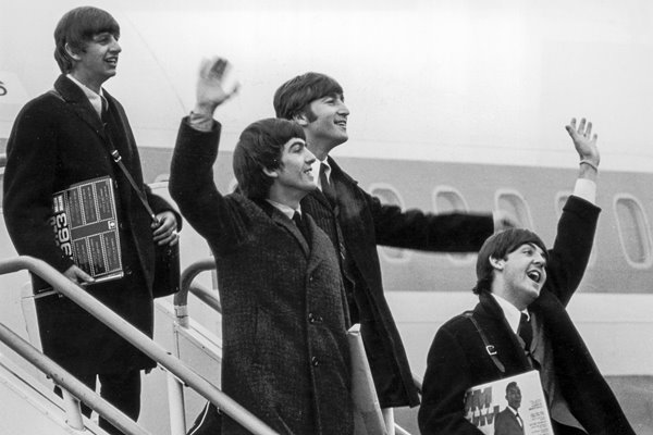 The Beatles Back From The USA 1964