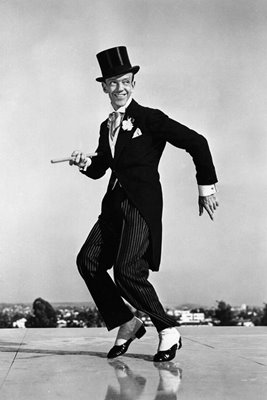 Fred Astaire's farewell dance